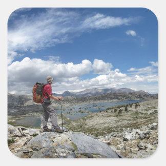 1000 Island Lake, Ansel Adams Wilderness, Sierra Square Sticker
