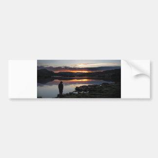 1000 Island Lake Sunrise - Ansel Adams Wilderness Bumper Sticker