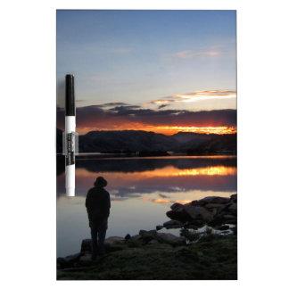 1000 Island Lake Sunrise - Ansel Adams Wilderness Dry-Erase Board