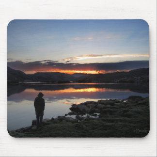1000 Island Lake Sunrise - Ansel Adams Wilderness Mouse Pad