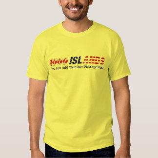 1000 Islands Canada USA, Add Your Own Message Shirt