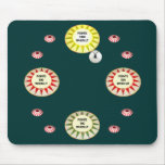 1000 Points Pinball Mouse Mat