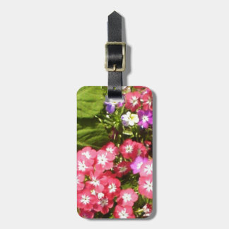 1000 Smiles - Beautiful Natural Flower Arrangement Tags For Luggage