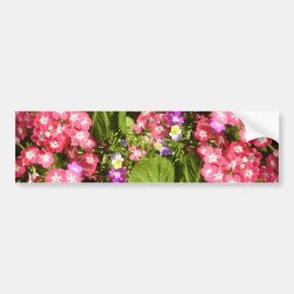 1000 sonrisas - centro de flores natural hermoso pegatina para auto