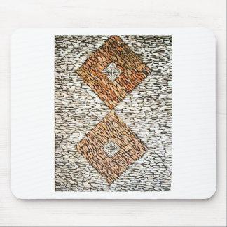 1000 Stones Design Mouse Pad