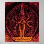 1000armed Avalokiteshvara Poster