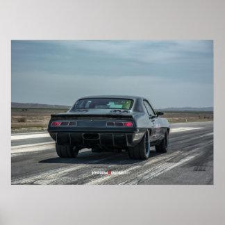 1000hp Chevy Camaro listo para competir con Póster