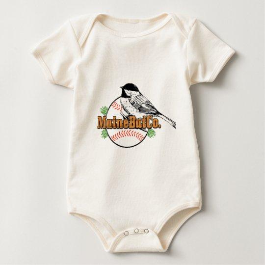 1000LARGECHICKADEEMBCLOGO.png Baby Bodysuit