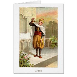 1001 Arabian Nights: Aladdin Greeting Card