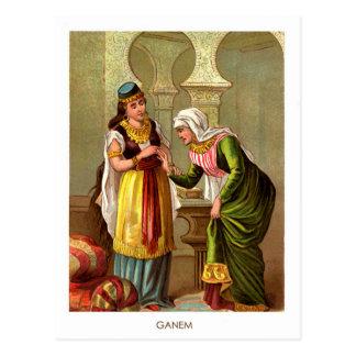 1001 Arabian Nights: Ganem Postcard