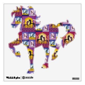 1001 Arabian Nights - horse wall decal