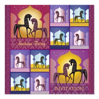 """1001 Arabian Nights Party Invitation 5.25"""" Square Invitation Card"""