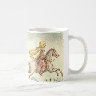 1001 Arabian Nights: The Enchanted Horse Classic White Coffee Mug