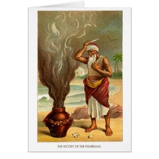 1001 Arabian Nights: The History of the Fisherman Greeting Card