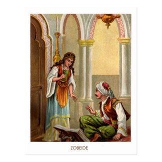 1001 Arabian Nights: Zobeide Postcard