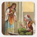 1001 Arabian Nights: Zobeide Square Sticker