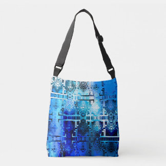 1001 Lights (sapphire blue) Crossbody Bag