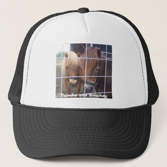 100_0540, Poncho and Smokey Trucker Hat
