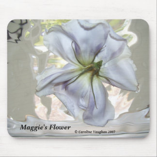 100_0709, Maggie's Flower,  Caroline Vaughan 2007 Mouse Pad