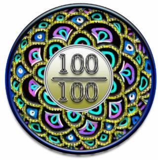 100/100 alabanza fotoescultura vertical