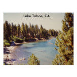 100_1068Lake Tahoe, el lago Tahoe, CA Posters