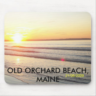 100_1135, OLD ORCHARD BEACH, MAINE MOUSE PAD