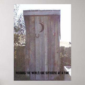 100_1958, estando en la luna el mundo, una depende póster