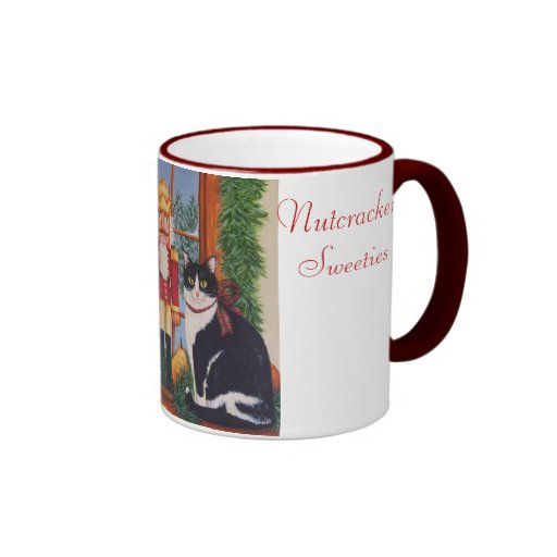 100_2411, Nutcracker Sweeties Ringer Coffee Mug