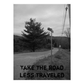 100_3172_1_2, Take the road less traveled Print