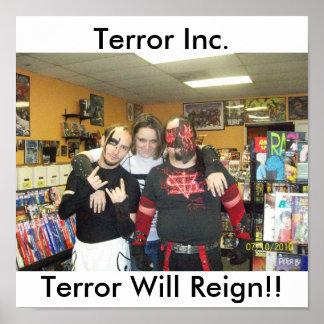 100_4719, Terror Inc., Terror Will Reign!! Poster
