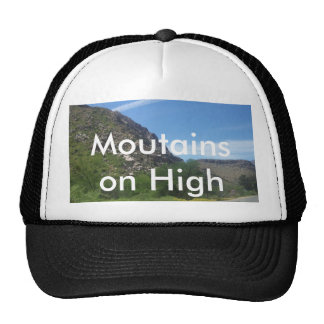 100_4732, Moutains on High Trucker Hat