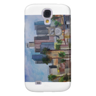 100_4966-1 Owl in LA Galaxy S4 Case