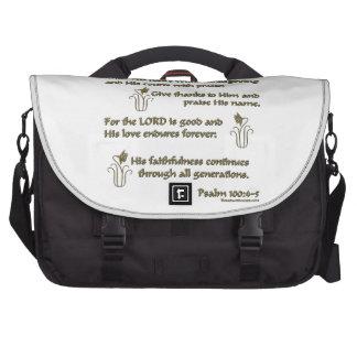 100:4 del salmo - 5 bolsa para ordenador