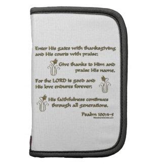 100:4 del salmo - 5 organizador