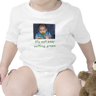 100_5309, no es verde eatting fácil traje de bebé