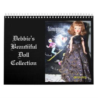 100_6227, colección de la muñeca de Beautiiful de Calendarios De Pared