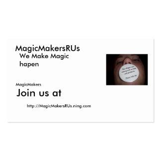 100_7081, MagicMakersRUs, http://M.. - Modificado  Plantillas De Tarjetas Personales