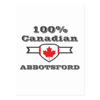 100% Abbotsford Postcard