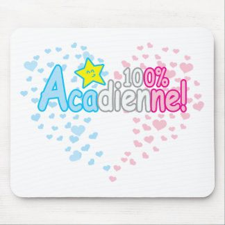 100% Acadienne-baby Girl Mouse Pad