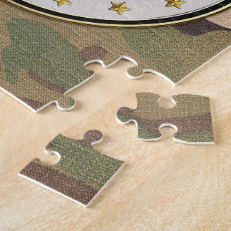 [100] Acquisition Corps (AAC) Regimental Insignia Jigsaw Puzzle