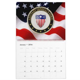 [100] Adjutant General's Corps Branch Insignia [3D Calendar