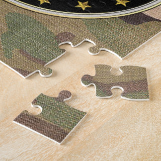 [100] Adjutant General's Corps Branch Insignia [3D Jigsaw Puzzle