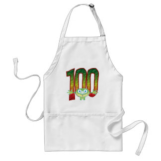 100 Age Ghoul Adult Apron