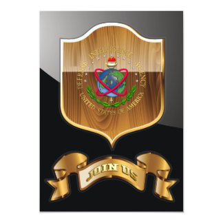 """[100] Agencia de Inteligencia para la Defensa: Invitación 5"""" X 7"""""""