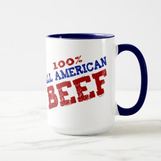 100% All Ameican Beef Mugs