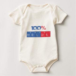 100%American Body De Bebé