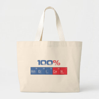 100%American Bolsa Tela Grande