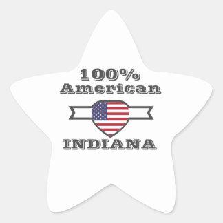 100% American, Indiana Star Sticker