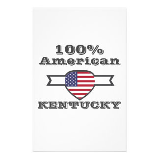 100% American, Kentucky Stationery