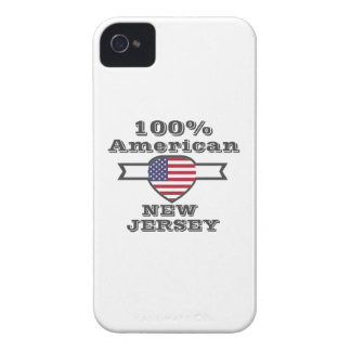 100% American, New Jersey iPhone 4 Cover